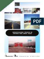 Especificaciones Técnicas de Pinturas para Obras Viales 2013.pdf