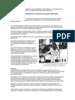 BOLIVIA. Plan Para Convertir Vehículos de Gasolina a Gas Natural (Los Tiempos) 09-07