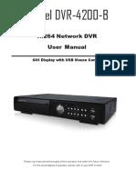 DVR 4200 B Manual