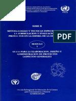 Metodología y Técnicas Específicas Para La Formulación y Evaluación de Proyectos en La Esfera de La e