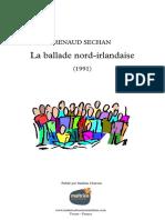LaBalladeNordIrlandaise - Partition complète