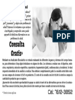 Flyer Consultas