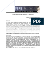 AS INTERFACES ENTRE FILOSOFIA E PEDAGOGIA.pdf