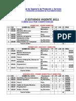 Plan de Estudios EPIT 2011 Vigente CODIFICADO (1)