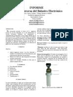 Imforme Formato IEEE