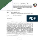 Carta Para FUC
