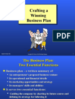 Chapter 10 Business Plan