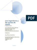 Los Ingenieros y Las Torres de Marfil