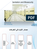 Hatchery Sanitaion and Biosecurity