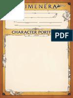 Numenera Character Portfolio