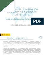 Informacion General Auxiliares Conversación