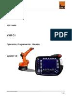 Manual de Programación Kuka Vkrc1 v1.3