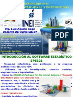 Seminario 03 - Estadistica e Investigacion III