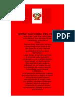 Himno Nacional Del Perú Word
