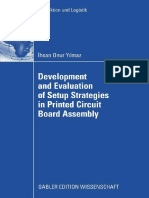 Development and Evaluation of Setup Strategies in Printed Circuit Board Assembly