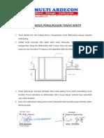 001 Metode Pengurugan Tanah WWTP