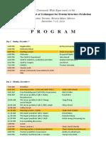 CASP11 Meeting Program