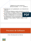 Procesos de Software 2012