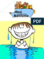 Album Batismo Menino