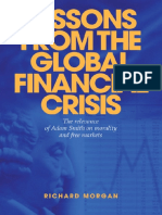 Morgan, Richard - Lessons From the Global Financial Crisis; The Relevance of Adam Smith on Morality and Free Markets (2009)