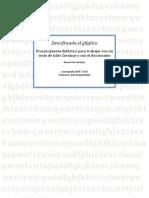 Descifrando El Gliglico Una Propuesta Didáctica