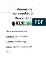 Monografia adhesivos quimicos