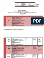 Planificare Calendaristica Limba Engleza Clasa II Plus Programa