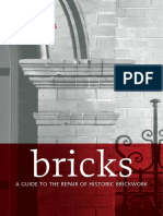 A Guide to the Repair of Historic Brickwork