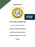 Trabajo Cultura Paracas Expo