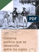 El Absolutismo2292