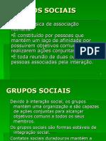 Grupos_sociais Slides