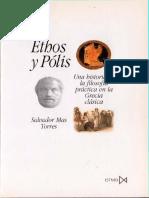 Ethos y Polis. Salvador Mas