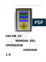 Gecor10 Manual Operador