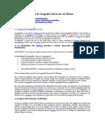 Guía de Geografía Universal y de México