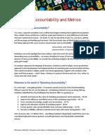 Market Accountability and Metrics