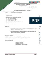 Clase n 2 Excel-2016