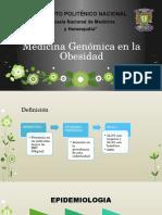 Genética en La Obesidad