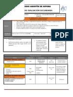 Plan y Programa de Evaluacion 1º, 2do Bloque