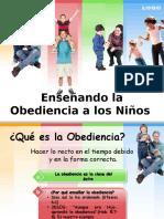 Enseñando la obediencia a los niños