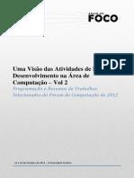 Anais Do Foco Vol2 2012