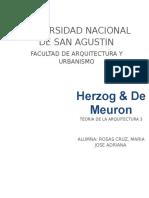 Herzog y de Meuron