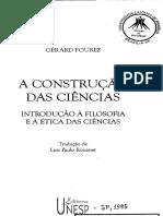 A Construcao Das Ciencias Cap II