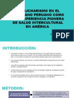 El Rijcharismo en El Altiplano Peruano Como Una Experiencia Pionera de Salud Intercultural en América