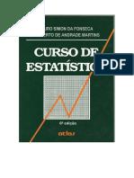 Curso de Estatística - Jairo Fonseca e Gilberto Martins - 6ed