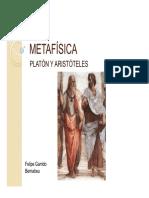 Presentacion Metafisica  Platon y Aristoteles