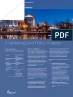 Engineering and Policy Analysis EPA DH
