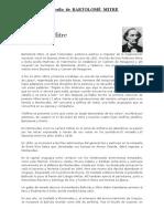 Biografía de Bartolomé Mitre