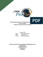 Sistem Monitoring Karyawan Bagian Financial Executive Berbasis Desktop