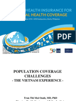 NHI4UHC Day 1 Session 2 Population Coverage Challenge - The Viet Nam Experience