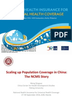 NHI4UHC Day 2_Session 2_Scaling up Population Coverage in China